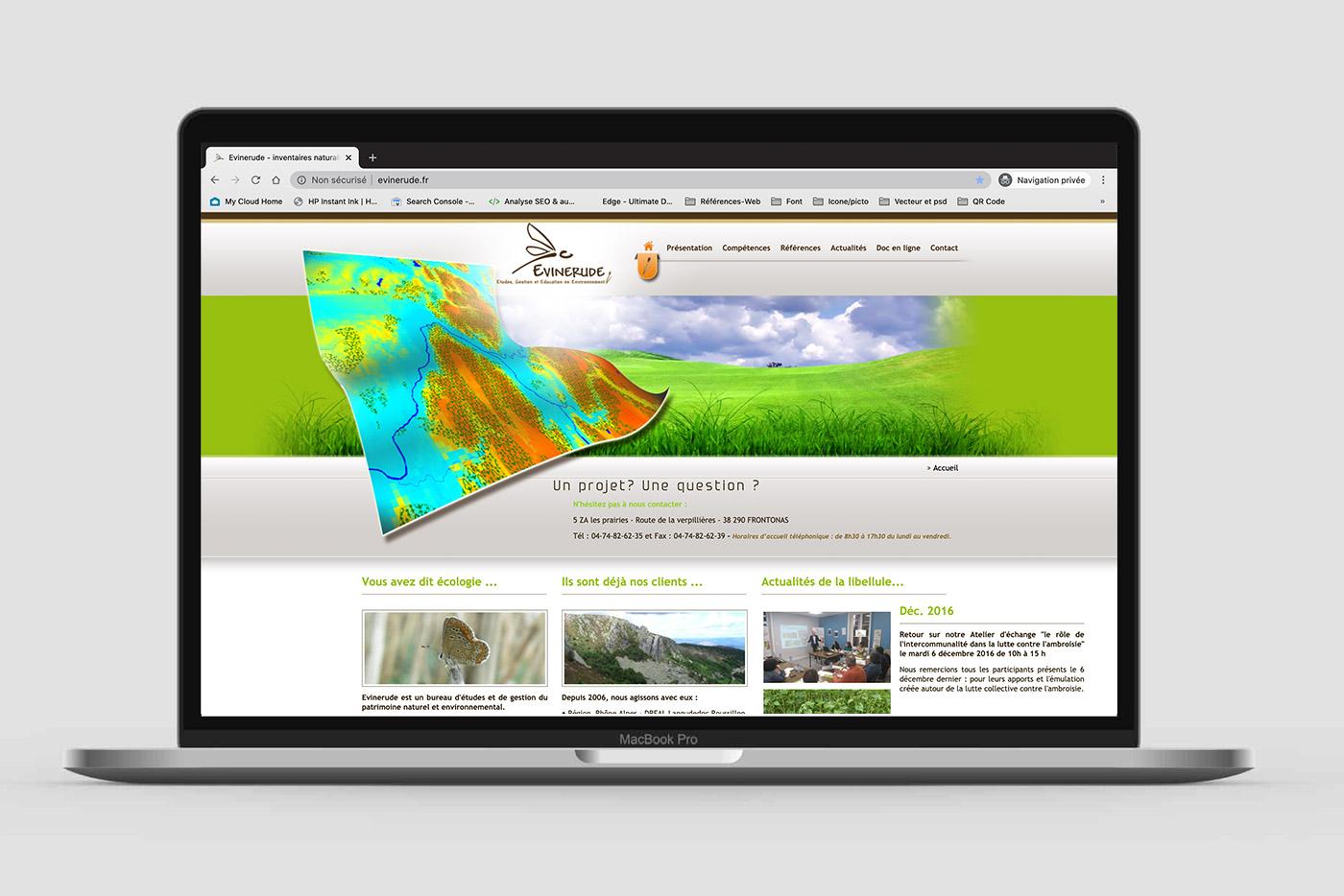 Site Internet Evinerude