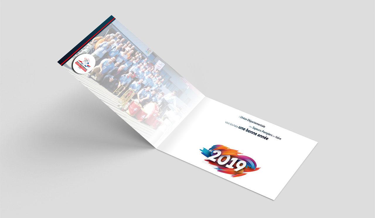 Carte de voeux UDSP38