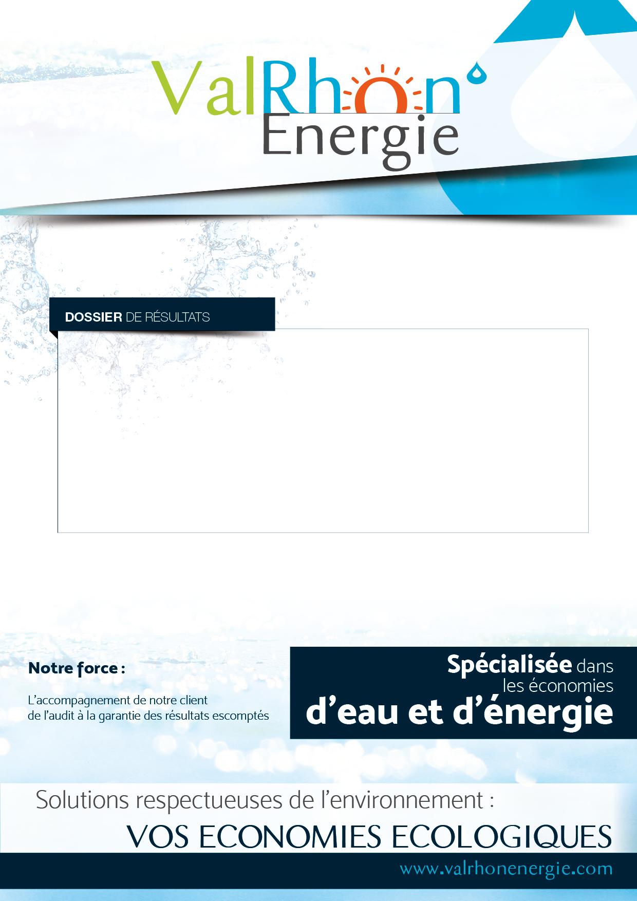 Gabarit de rapport ValRhôn'Energie