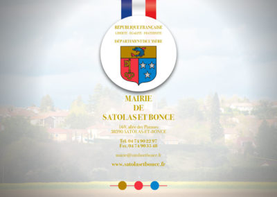 Mairie de Satolas et Bonce