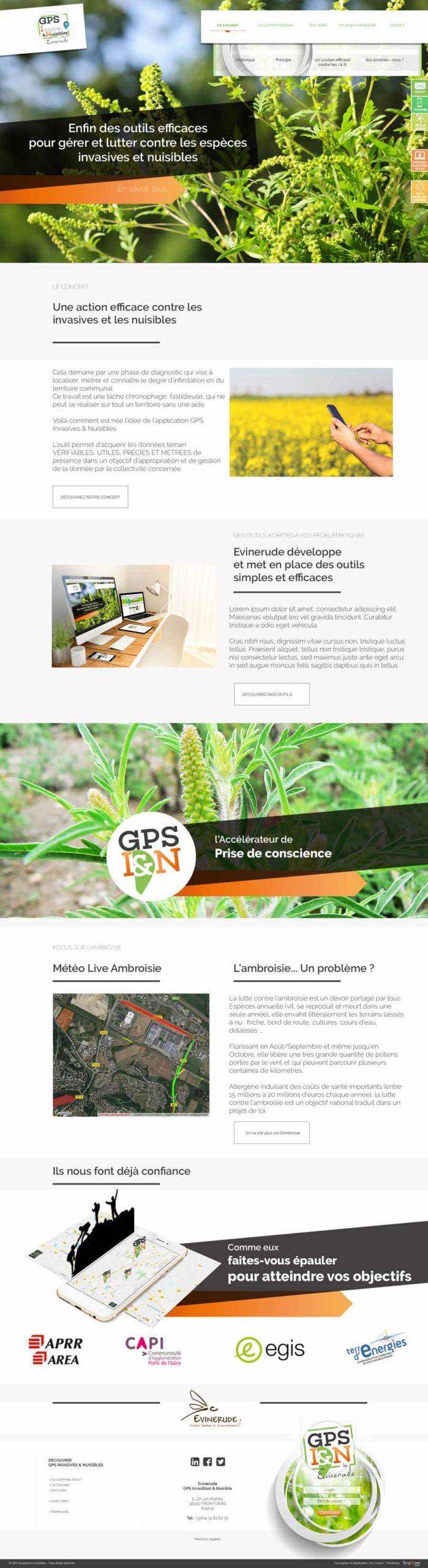 Site Plateforme GPS I&N